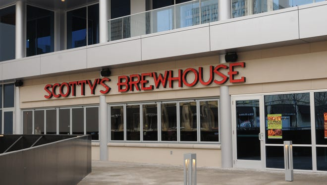 Scotty's Brewhouse on Virginia Avenue in Downtown Indianapolis, pictured Feb. 20, 2009.
