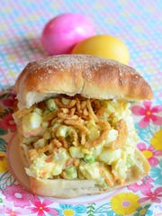 This Curry Egg Salad is a great egg salad recipe because it has plenty of crunch and extra flavor from the curry.