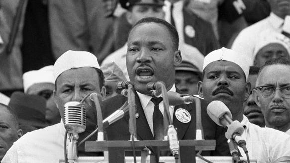 Dr. Martin Luther King Jr. (AP Photo)