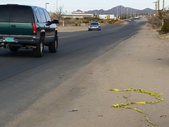 Del Rey Boulevard crash site