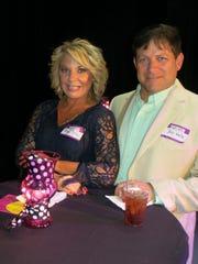 Tonya and Jon Katz at Sky Sponsor Party.