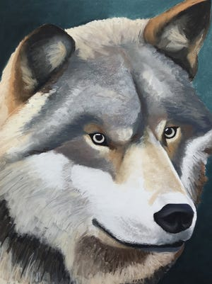 Paintings from a variety of artists can be seen at Gallery 16 during First Friday Art Walk.