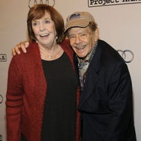 Anne Meara and Jerry Stiller attend the 12th Annual Project A.L.S. New York City Benefit on October 29, 2009 in New York City.