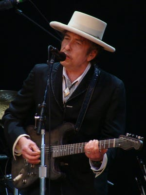 The legendary 75-year-old folk musician Bob Dylan will stop in Asheville on Nov. 12.