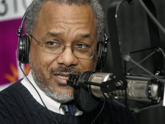 "Amos Brown talks during his AM-1310 radio show, ""Afternoons"