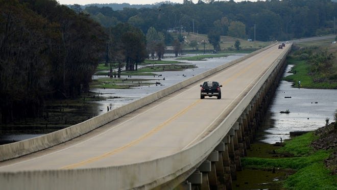 The La. 154 bridge over Lake Bistineau in Bossier Parish will be named after slain Shreveport Police Officer Thomas LaValley. A ceremony on Saturday will mark the official designation of the bridge's new name, with signs unveiled by LaValley's family and friends.