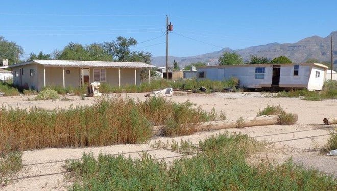 A dilapidated mobile home in the Boles Acres area. Otero County Commissioners will amend their ordinance regarding solid waste during a public hearing Wednesday, April 5 at 6 p.m. at the Otero County Administration Building, 1101 N. New York Ave.