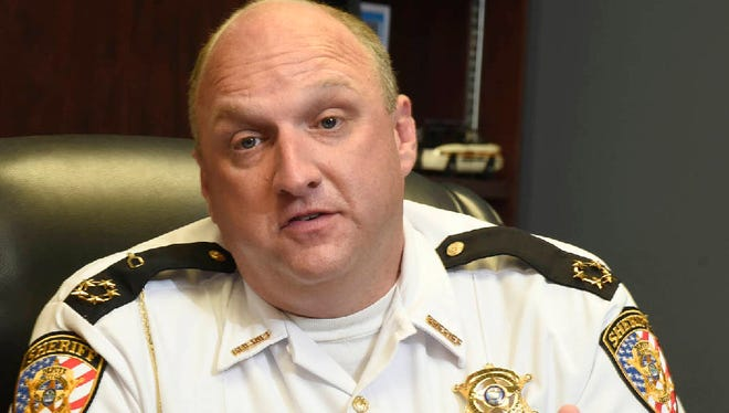 Bradley County Sheriff Eric Watson.