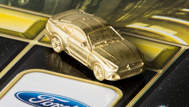 Ford Mustang is Mr. Monopoly's new ride in the latest edition of Monopoly Empire.