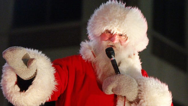 He's back: Santa Claus is among the attractions at Tuesday's Downtown Appleton Christmas Parade.