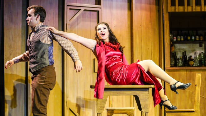 """Shasta High School's theater and music department presents """"Crazy For You"""" at the David Marr Theatre."""