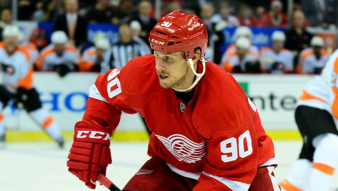 Stephen Weiss has played in 27 games since signing a five-year contract with the Detroit Red Wings 17 months ago.