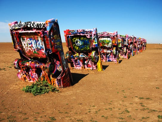 39 cadillac ranch 39 creator stanley marsh dies. Black Bedroom Furniture Sets. Home Design Ideas