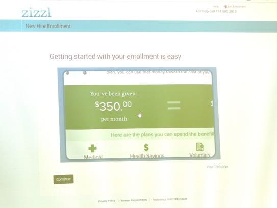 "Zizzl's ""Ask Emma"" tool walks users through selecting"