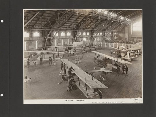 United States Army School of Military Aeronautics at Cornell University, dated 1918.