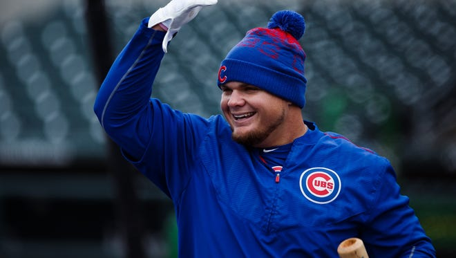 The Iowa Cubs first baseman Daniel Vogelbach is off to a hot start at the plate.