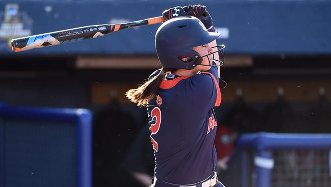 Haley Fagan and the Auburn Tigers are a win away from  reaching the best-of-three championship series in the Women's College World Series.