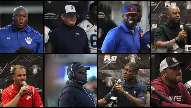 There are eight new head football coaches in close proximity to Tallahassee this year, six of them at city schools.