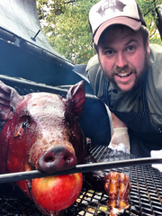 Chef Reed Johnson with Red Barn Kitchen