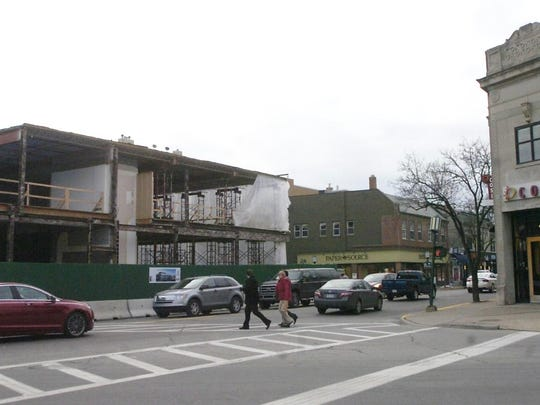 The Woodward Building directly across the street from Cosi is being remodeled extensively and will reopen sometime in the summer.