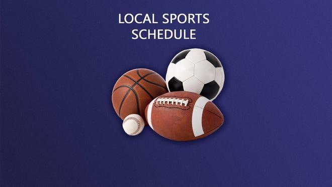 Local sports schedule