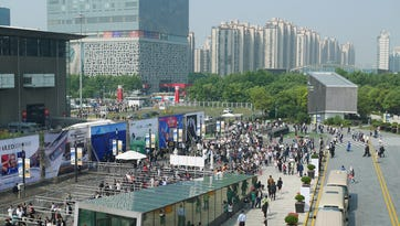 CES Asia is small, but growing exponentially
