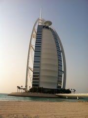 Burj al Arab hotel in Dubai, United Arab Emirates.