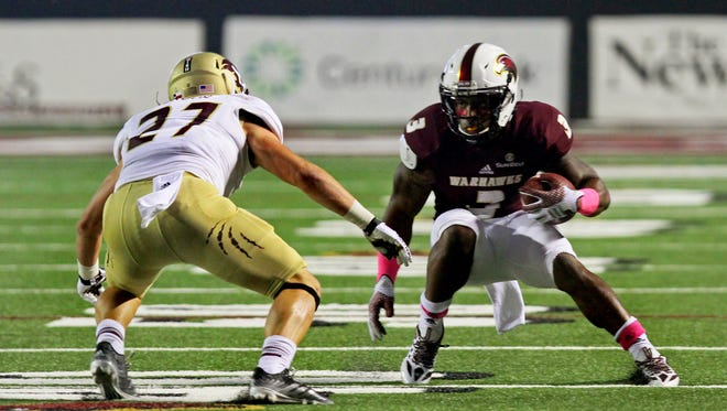 Cain (3) was approved for a medical redshirt this season after tearing his ACL in 2015.