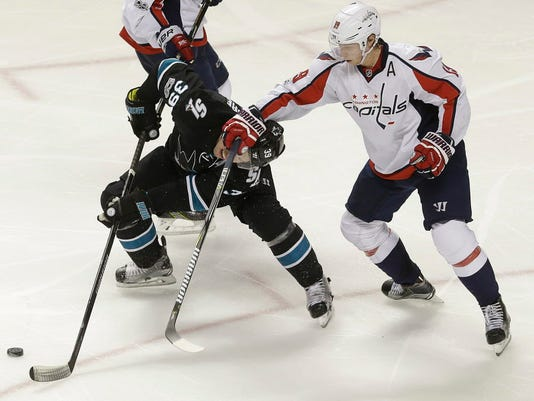 AP CAPITALS SHARKS HOCKEY S HKN USA CA