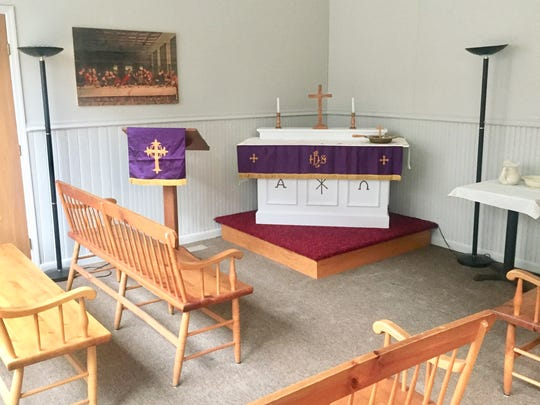New Hope Lutheran Church has opened Hope's Door in the Arcade in downtown Newark.