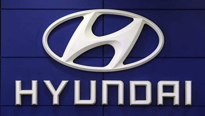 For the second time this month, Hyundai is telling some SUV owners to park outdoors because an electrical short in a computer can cause vehicles to catch fire. The Korean automaker is recalling about 180,000 Tucson SUVs in the U.S. from 2019 through 2021 to fix the problem. [Ahn Young-joon/The Associated Press file photo)