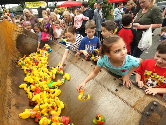 Pick the fastest duck at the Great Denville Duck Race on Saturday and help local charities.