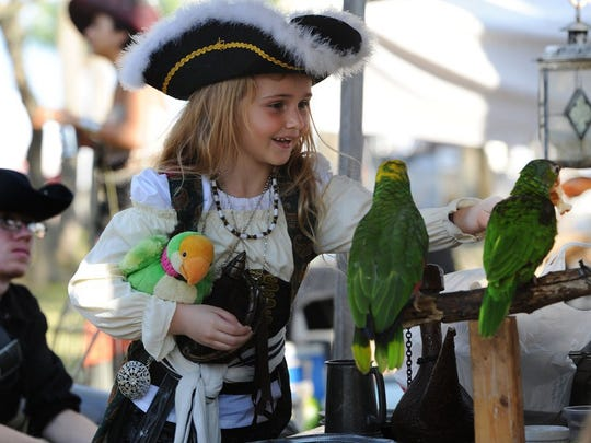 The annual Treasure Coast Pirate Festival is this weekend at Veterans Memorial Park in Fort Pierce.