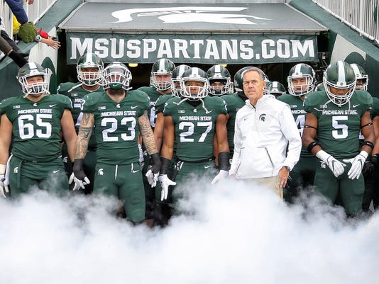 NCAA Football: Penn State at Michigan State