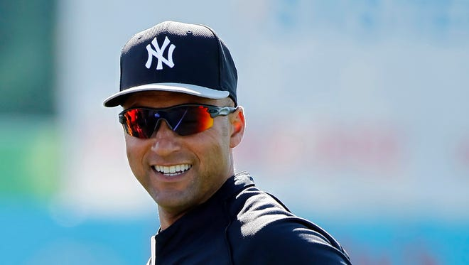 Derek Jeter's final spring training ends with a Saturday flight to Houston.