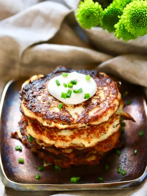 Celebrate St. Patrick's Day with Irish Boxty or potato pancakes.