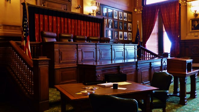 Unlike the nation's highest court, the Indiana Supreme Court provides a live webcast of oral arguments, which take place inside its Statehouse chambers.
