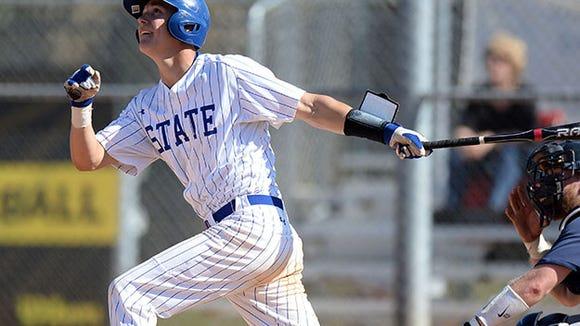 SDSU senior catcher Reid Clary