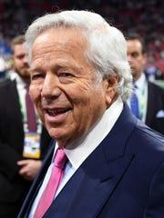 New England Patriots owner Robert Kraft has pleaded