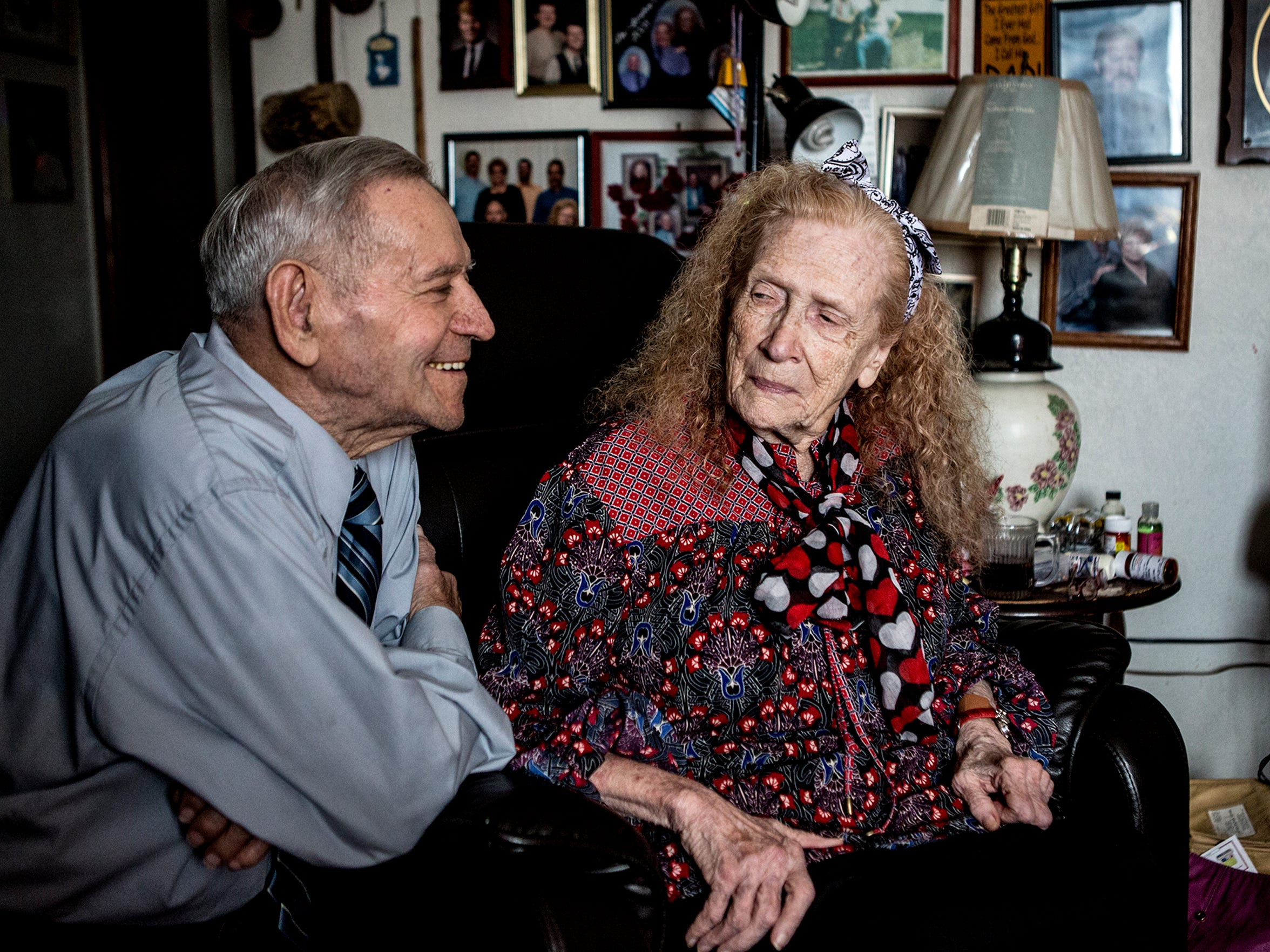High school sweethearts, George and Alice Gordon are still very much in love after 70 years of marriage, six children and 70 grandchildren.