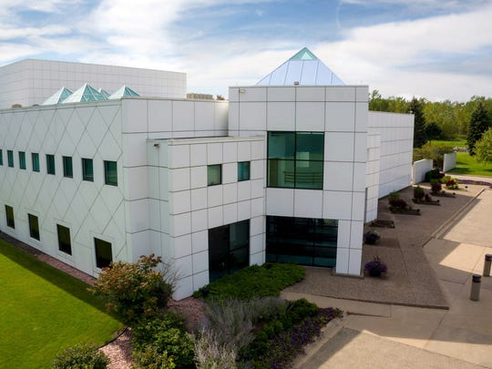 The simple exterior design of Paisley Park understates
