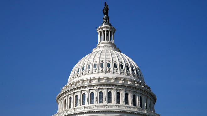 The dome of the U.S. Capitol