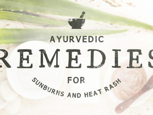 The Good Life: Ayurvedic Remedies for sunburn and heat rash