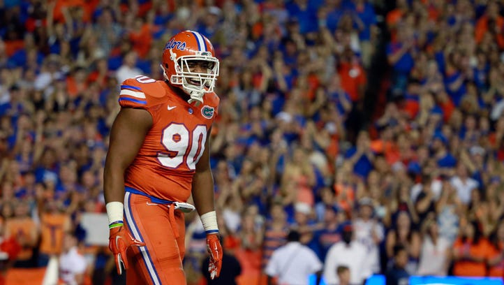 If Florida defensive end Jonathan Bullard falls to the Cardinals late in the first round, he'd give them the pass rusher they so desperately desire.