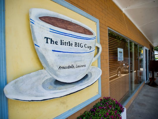 The Little Big Cup overlooks Bayou Fuselier in Arnaudville. The Little Big Cup will be offering a Mother's Day brunch buffet.