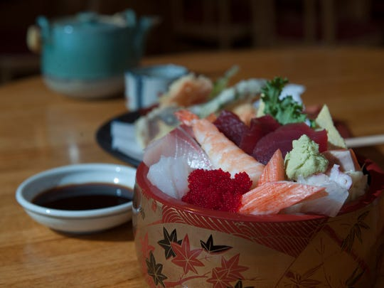 Chirashi is a chefs' favorite at Sagami in Collingswood.