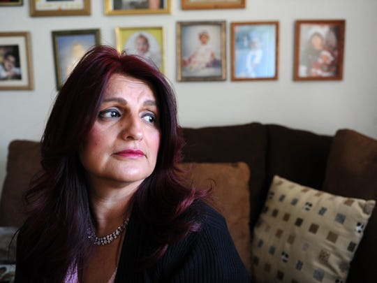 Debbie Aguilar pictured in November 2013 in her Salinas home.
