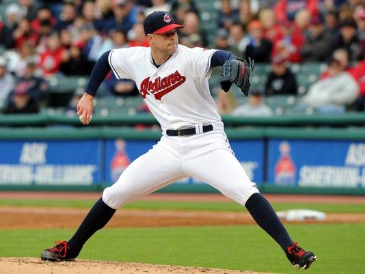 MLB: St. Louis Cardinals at Cleveland Indians