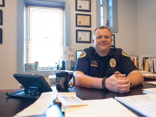 Princess Anne Police Chief Tim Bozman has been named the new police chief of the Somerset town, replacing Scott Keller.
