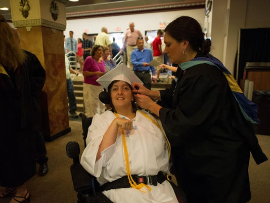 N. Buncombe High graduation (1)